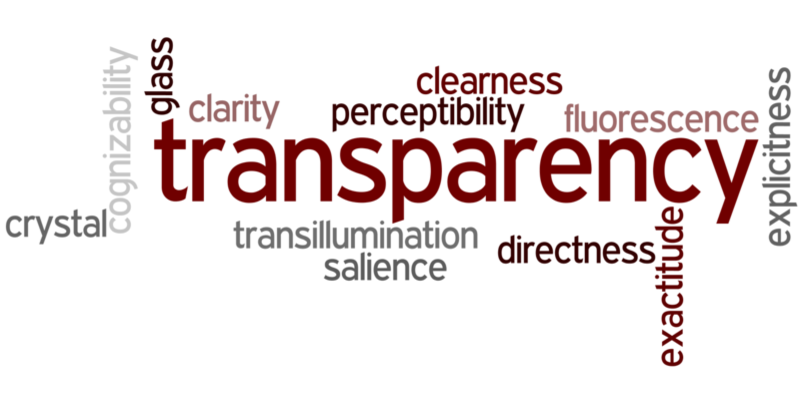 Wordle Transparency St Helena Freedom of Information Campaign Introduction